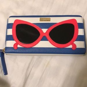 Like new Kate Spade sunglasses wallet